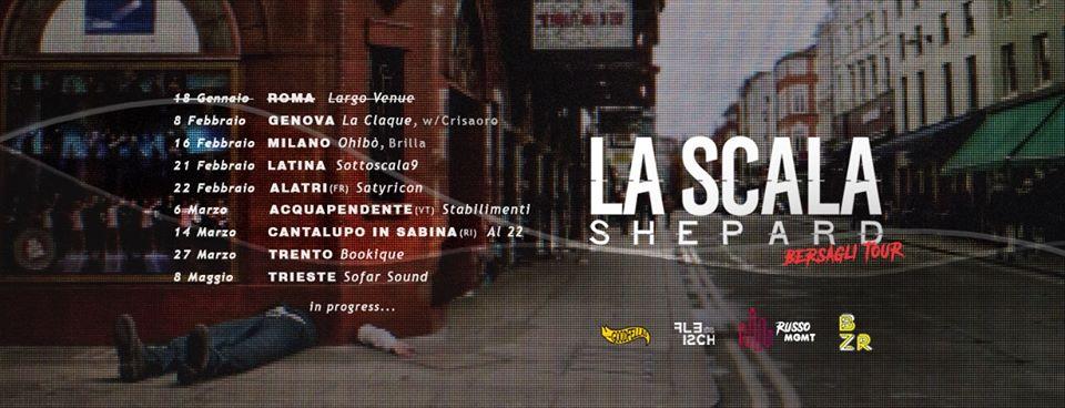 """La Scala Shepard<br>""""Bersagli"""" Tour"""